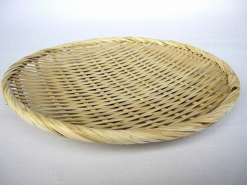 お蕎麦や鍋に 竹製 盆ざる 24cm 【竹ざる 盆ザル】