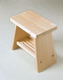 日本製 ふろ椅子 ちょうほうくん 【木製 風呂椅子 ふろいす 桧 ひのき】