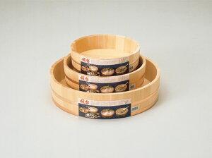 国産高級さわら 木製 飯台 36cm 約7合用  【すし桶 サワラ 銅タガ】寿司おけ 寿司桶 飯切り