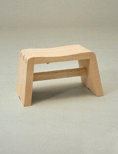 日本製 アール曲線の座りやすい風呂椅子 ニューふろいす     【木製 ひのき 檜 フロイス 風呂いす 国産】