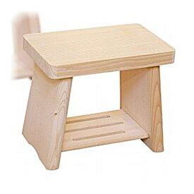 日本製 木製 親子風呂イス 中     【風呂椅子 ふろいす フロイス 天然木 桧 ひのき】