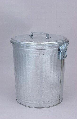 昔ながらの トタンダストペール 45型(蓋付き) 三和金属 【 ばけつ 大型ペール缶 脱衣かご 洗濯物 ごみ箱 ゴミ箱 】*同梱不可の場合別途運賃*