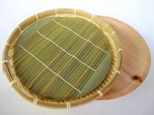 ソバ盛 竹製 清涼 ザルソバ 2P トレー付 ざるそば用 15-208