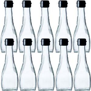 ガラス瓶 ドレッシング・タレ瓶 オールラウンド180B 190ml -10本セット- sauce bottle