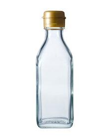 ガラス瓶 ドレッシング・タレ瓶 調味200角-HC-F 200ml sauce bottle