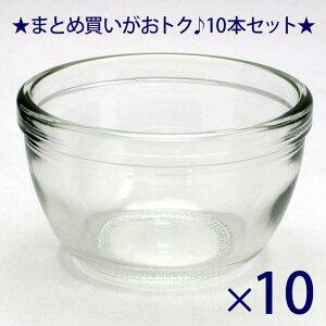 ガラス瓶 プリン・ヨーグルト瓶 デザート110 110ml -10本セット- jar