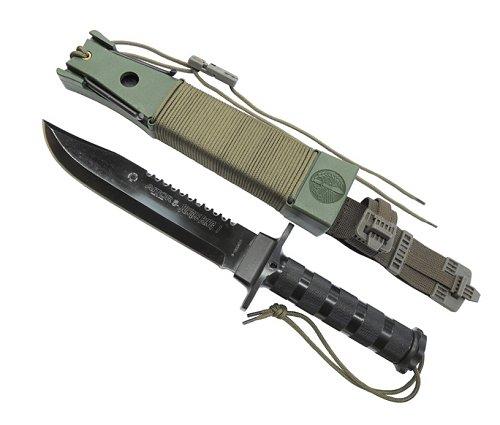 AITOR アイトールジャングルキング I ブラックサバイバルナイフ