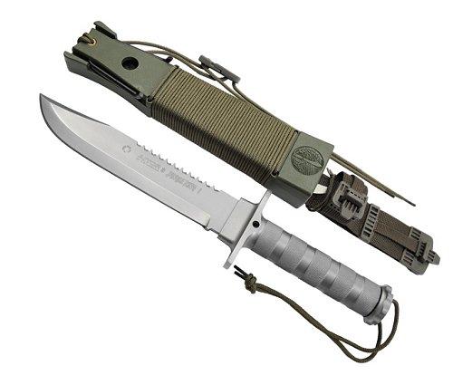 AITOR アイトールジャングルキング I シルバーサバイバルナイフ