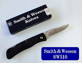 【メール便(B) 270円 対応商品・同梱不可 ※代引き不可】SMITH&WESSON(スミス&ウェッスン)SW510Folder Lockback【SW-SW510】【10015032】