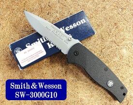 SMITH&WESSON(スミス&ウェッスン)SW3000G10S.W.A.Tハーフセレーション【SW-SW3000G10】【10015048】