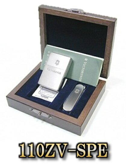Vintage(ビンテージビクトリノックス)VICTORINOX & ZIPPO110ZV-SPEチタン製 ジッポ&クラシック限定100セット シリアルNo.入り新品