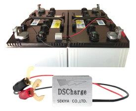 電動カートバッテリー 自動再生 超小型パルス DS Charger 2個セット バッテリー交換不要 バッテリーにつけるだけで 寿命が2倍3倍! DSチャージャー 宮崎県ものづくり大賞受賞