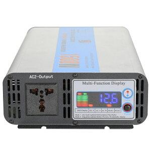 高性能12V1500W正弦波インバーターソーラー電源をAC100V/110Vで使用