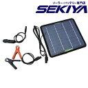 太陽光でバッテリー充電 コンパクトソーラーパネルキット 【5W 18V】