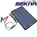 太陽光でバッテリー充電 コンパクトソーラーパネルキット 【10W 12V】
