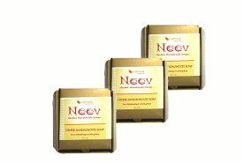 アーユルヴェーダ ニーブ サンダル ソープ 3個セット NEEV Herbal DIVINE SANDALWOOD SOAP【お得にお買い物!エントリーで対象ショップポイント5倍!】
