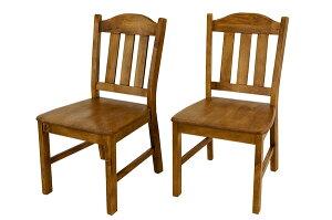 ダイニングチェア椅子木製チェアパインダイニングチェア2脚セット【送料無料】【ダイニング/テーブル専門店】【アウトレット】