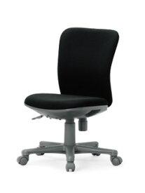 【送料無料】ローバックタイプオフィスチェア肘無し・【組立品】事務椅子・ミーティングチェアチェア/椅子【メーカー品】【素材・カラー選べます】