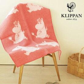 KLIPPAN (クリッパン) ミニブランケット ランニングムーミン ピンク