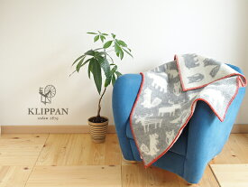 KLIPPAN( クリッパン ) ミニブランケット フォレスト グレー( GY )