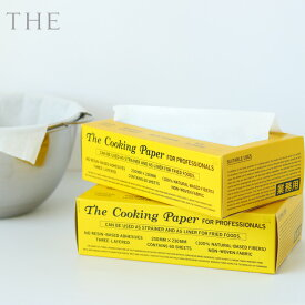 THE THE COOKINGPAPER ザ・クッキングペーパー 60枚入り【不織布製 保水 吸水 100%天然由来繊維 オシャレ】