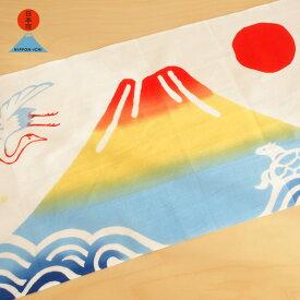 [ネコポスOK] 中川政七商店 <日本市> 注染手拭い めでた富士