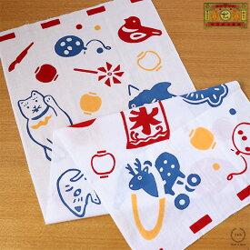 [ネコポスOK] 中川政七商店 注染手拭い 縁日【お祭り おもちゃ てぬぐい 贈り物】