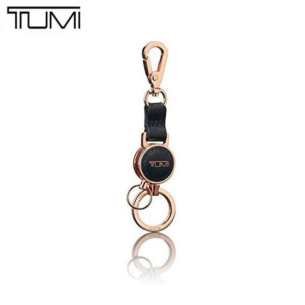 トゥミ TUMI 小物 キーホルダー 103516-T062 BLACK/ROSE GOLD マルチ バレット キーリング ブラック×ローズゴールド アウトレット[並行輸入品]【メンズ レディース キーフォブ アクセサリー 黒 キーチャーム チャーム】