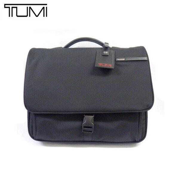 トゥミ TUMI バッグ 26192D4 BLACK コンピューター・フラップブリーフ ブラック アウトレット[並行輸入品]【メンズ ギフト ブランド 黒 無地 ビジネス 旅行 トラベル】
