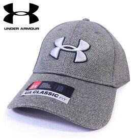 アンダーアーマー UNDER ARMOUR キャップ 帽子 メンズ ヒートギア UA CLASSIC FIT グリーン L/XL アウトレット[並行輸入品]【メンズ ギフト ブランド スポーツ ゴルフ クラシック フィット】
