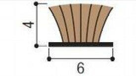【メール便4個まで】すき間モヘアシール ゴールド 巾6×高さ4mm