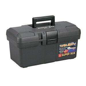リングスター スーパーボックス SR-400 グレー [ 工具箱 ツールボックス ケース プラスチック 大型 椅子 屋外 クラフト 座れる 激安 ベランダ 工具バック 工具入れ ] 車用品・バイク用品 カー用