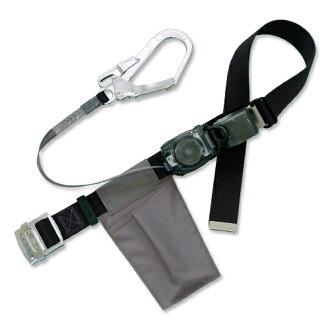 Tsuyoron little safety belt RN-590-BLK-BP [safety belt belt rope auxiliary belt lanyards support belt high vacuum safety supplies husk tool safety belt diy]