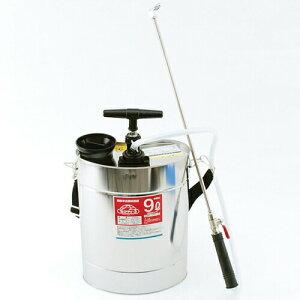 【8/5 全品ポイント5倍】セフティ3 肩掛半自動噴霧器 9L ジュシポンプ