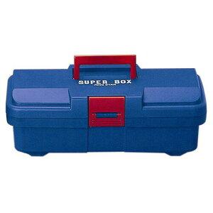 リングスター PC工具箱 SR-385 青 D385×W202×H140mm [ 工具箱 ツールボックス ケース プラスチック 大型 椅子 屋外 クラフト 座れる 激安 ベランダ 工具バック 工具入れ ] 車用品・バイク用品 カー用