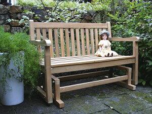 ジュリアロッキングベンチ W1200×H870×D600 [ ガーデンチェア ロッキングチェア ガーデンブランコ 木製 家具 椅子 イス テラス 庭 バルコニー diy 通販 ]
