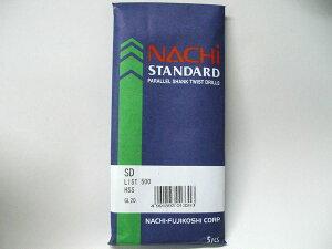 【メール便可】NACHI 鉄板ドリル SD9.0 5本入 対応材:鉄 アルミ プラスチック 木材 [ 木工用 鉄工用 ビット 工具 道具 作業工具 diy 大工道具 穴 あける ドリルビット 刃 インパクトドライバ 電動