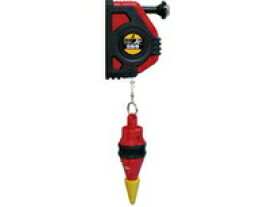 シンワ測定 ハンディ下げ振りJr 自動巻 赤 スイピタ 200g付