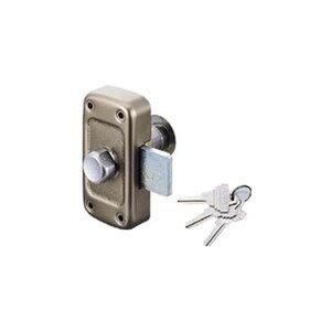 GOAL 面付本締錠 MD-5 鍵3本付き