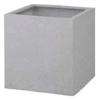 b9200e15 White cube pot cant (450) W450×H450 [pot planter planter box large