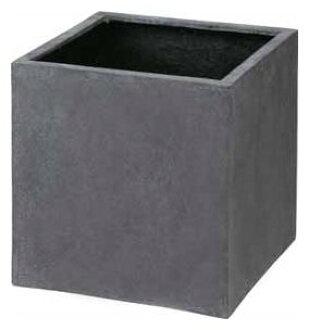 bc850e6c Cube pot cant (540) grey W540×H540 [pot planter planter box large