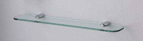 TOTO 化粧棚(メタル製 強化ガラス製)YAK801G W600×D130×H32mm [ 化粧棚板 ラック シェルフ 収納 自作 収納棚 台所 家具 収納用品 キャビネット 壁 取り付け 洗面所 diy 生活日用品 通販 ]