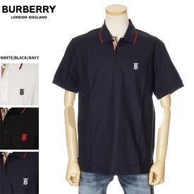 バーバリー BURBERRY ポロシャツ メンズ ブラック/ネイビー/ホワイト S/M/L/XL/2XL/3XL 80170