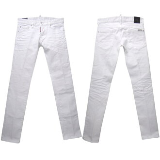 DSQUARED2 SLIM JEAN mens casual pants white series S71LB0034 S 39781 100