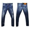 DSQUARED2 SEXY TWIST JEAN メンズ ジーンズ[38004] ブルー系 S74LB0082 S30342 470