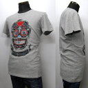 HYDROGEN メンズ Tシャツ[34041] グレー系 180030 A10 GREY MELANGE