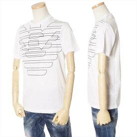 エンポリオアルマーニ EMPORIO ARMANI Tシャツ メンズ ホワイト S/M/L/XL/XXL/XXXL 3G1T69 1J19Z 0100 [71001]