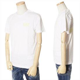 エンポリオアルマーニ EMPORIO ARMANI Tシャツ メンズ ホワイト S/M/L/XL/XXL/XXXL 3GPT05 PJ02Z 1100 [71005]
