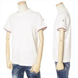 MONCLER Tシャツ メンズ ホワイト系 S/M/L/XL/XXL/XXXL 091 8019900 87296 004 [71004]