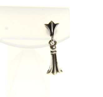 CHROME HEARTS / chrome cross tail drop earrings color: Silver s7 unread ya